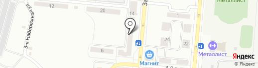 Западный на карте Каменска-Уральского