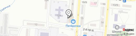 Мастерская по ремонту обуви на карте Каменска-Уральского