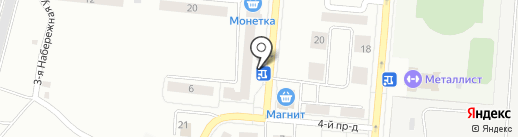 Магазин по продаже овощей и фруктов на карте Каменска-Уральского