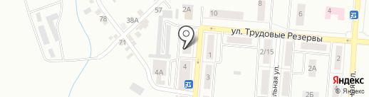 ЖЭУ №19 на карте Каменска-Уральского
