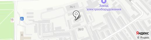 Дуплит на карте Каменска-Уральского