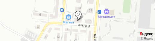 Норис на карте Каменска-Уральского