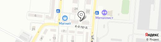 Ермолинские полуфабрикаты на карте Каменска-Уральского