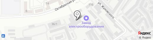 Уралстрой на карте Каменска-Уральского
