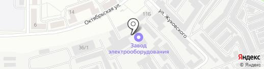 СК Ковкастрой на карте Каменска-Уральского