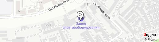 УЗЭО на карте Каменска-Уральского
