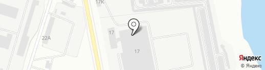 Эмпаер на карте Каменска-Уральского