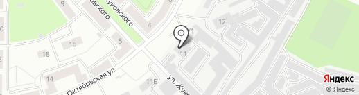 Даника на карте Каменска-Уральского