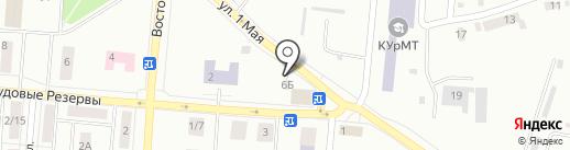 Уют-2 на карте Каменска-Уральского