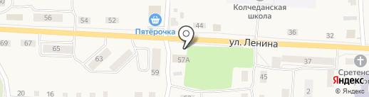 Киоск по продаже игрушек на карте Колчедана