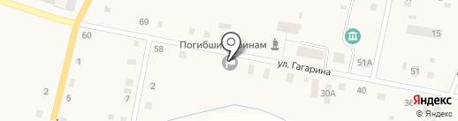 Администрация Бархатовского сельского поселения на карте Бархатово
