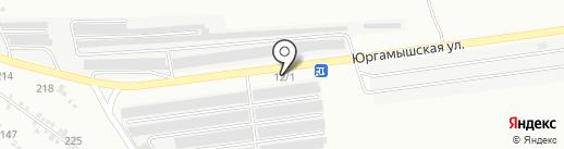 У дяди Славы на карте Кургана