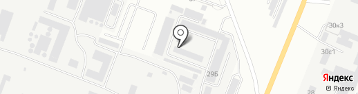 Кургантехэнерго на карте Кургана
