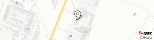 Кургансельэлектро, ЗАО на карте Кургана