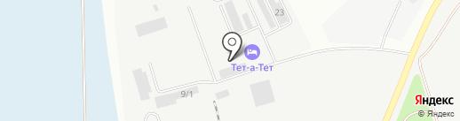 Центр технического контроля и качества дорожных работ на карте Кургана