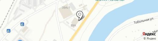 Джемир-Курган на карте Кургана
