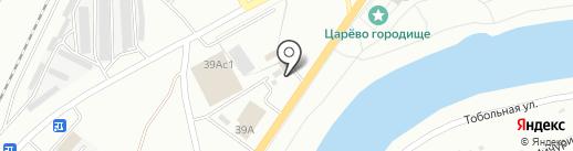 Стройка+ на карте Кургана