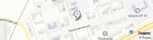 Магазин аккумуляторов на карте Кургана