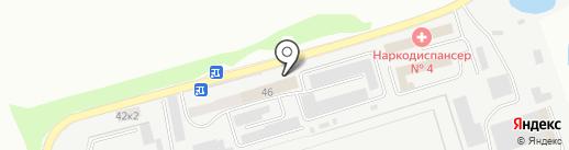 Следственный изолятор №1 на карте Кургана