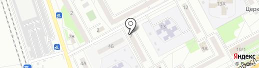 Сиреневый локон на карте Кургана