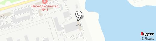 Колония-поселение №5 на карте Кургана
