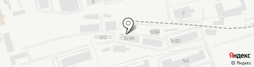 Стройлит на карте Кургана