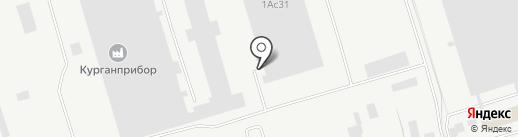 Курганский завод дорожных машин на карте Кургана
