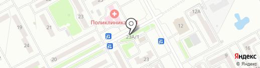 Магазин продуктов на карте Кургана