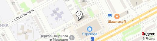 Ростелеком, ПАО на карте Кургана