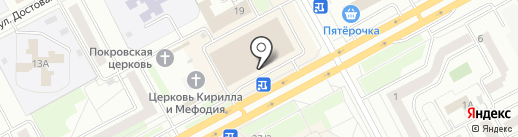 КАНЦПАРК на карте Кургана