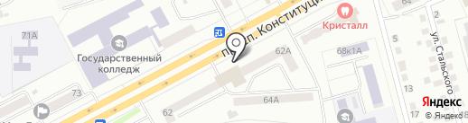 Банкомат, Альфа-банк на карте Кургана