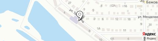 Дока на карте Кургана