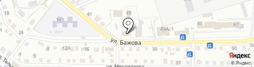 Уралавторемстроймонтаж, ЗАО на карте Кургана