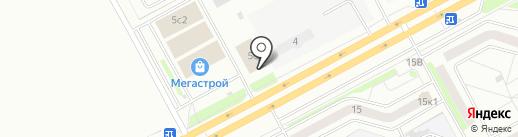 Магазин автомасел на карте Кургана