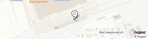СтройКомплект на карте Кургана