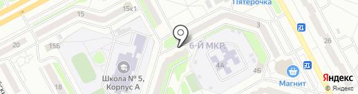Библиотека им. С.А. Васильева на карте Кургана