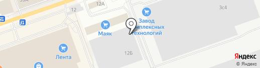 РТИ-Микрон на карте Кургана