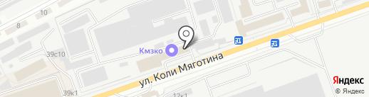 Завод Мельмаш, ЗАО на карте Кургана
