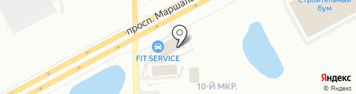 Бурмаш на карте Кургана