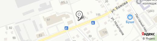 ГОСТ_БЕТОН на карте Кургана