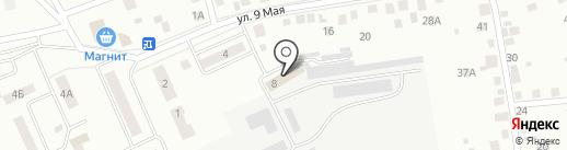 Гидроагрегатный завод на карте Кургана