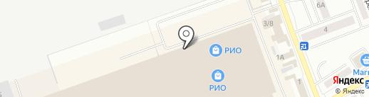 Родео на карте Кургана