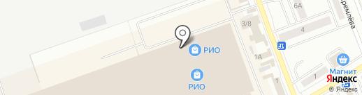Абажур на карте Кургана