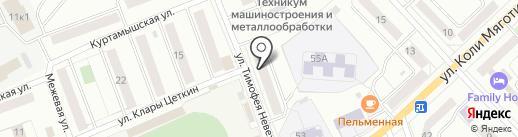 Почта Банк, ПАО на карте Кургана