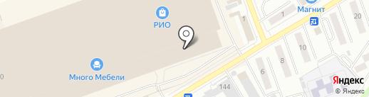Магазин товаров для праздника на карте Кургана