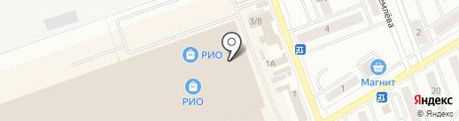 Магазин женской одежды на карте Кургана