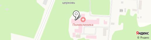Югория-Мед на карте Исетского