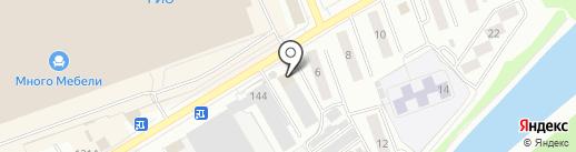 Шинник+ на карте Кургана
