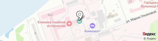 Музей истории развития центра им. академика Г.А. Илизарова на карте Кургана