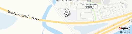 ВОА на карте Кургана